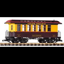 PIKO G Union Pacific #1873 Wood Coach Car # 38653