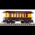 PIKO G Union Pacific #1878 Wood Coach Car #38654