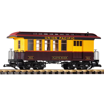 PIKO G Union Pacific Combine  #1922 Wood Coach Car # 38655