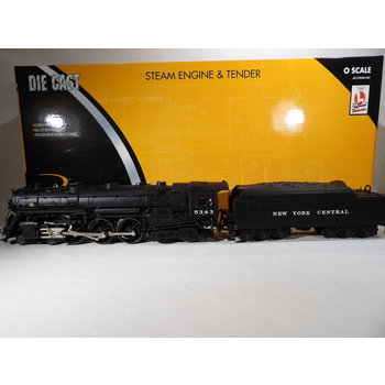 K-Line (TMCC) O Gauge NYC J1 Hudson Loco 4-6-4 #5343 C#209 # K3270-5343S