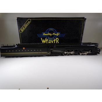 Weaver O Gauge Brass PRR T1 Duplex Locomotive C#209 # 5533