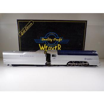 Weaver (TMCC Upgrade ) O Gauge Reading Pacific 4-6-2 Crusader Loco C#209 # G1089 -LP