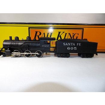 MTH Trains MTH O Rail king Santa Fe 2-6-0 Steam loco with Whistle # 30-1136-0