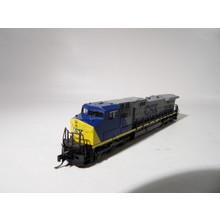 Kato Trains Kato N CSX C44-9W Unnumbered Diesel loco # 176-3403