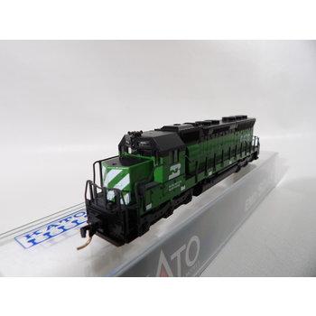 Kato Trains Kato N Burlington Northern #6480 SD-45 # 176-313