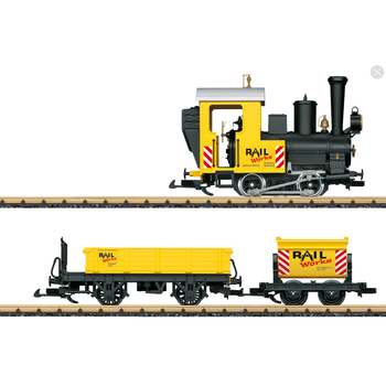 LGB G Construction Site Train Starter Set # 72503