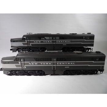 MTH Trains MTH O Gauge Upgraded Proto 2 NYC Alco PA  AA Diesel Set Loco C#209 # 4200