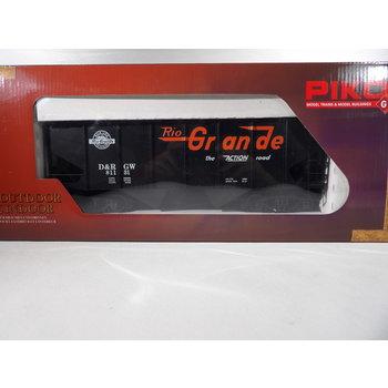 PIKO G D&RGW Rib-Side Hopper 81131 w/Coal Load #38917
