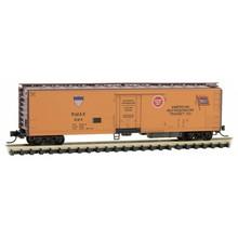 Micro Trains Line N American Refrigeration Transit Reefer # Rmax 284 Car  # 069-00-231