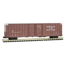 Micro Trains Line N Norfolk & Western 60' Double plug door box car # 103 00 140