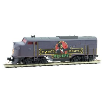 Micro Trains N Dr. Mort's Creepy Carnival FT Power Loco # 987 51 019