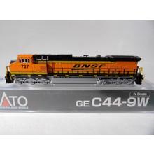Kato Trains Kato N Scale BNSF Swoosh C44-9W #176-3509