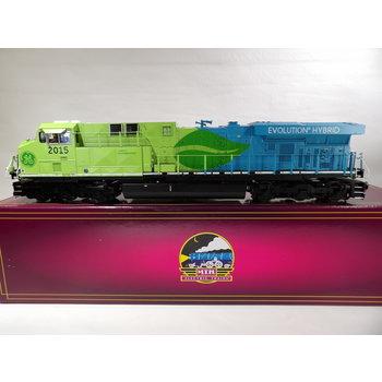 MTH Trains MTH O GE Hybrid Evolution ES44AC Diesel Engine w/Proto-Sound 3.0 (Hi-Rail Wheels) # 20-20507-1