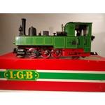 LGB G Waldenburger Bahn Green & Black 0-6-2 Steam Loco # 2073D