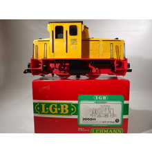 LGB G Schoema Yellow Diesel Switcher # 2060H