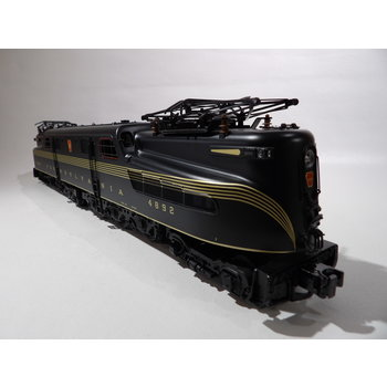 MTH Trains MTH PS2 O Gauge PRR #4892 GG-1 (scale)  Green Loco PS 2.0  # 20-5610-1E