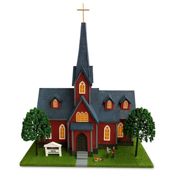 Menards O Scale Trinity Church # 279-6151