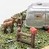 Menards O Scale Camper Vic's Secret Hideaway # 2796227