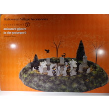 Department 56 Halloween Animated Ghosts Graveyard # 6005552