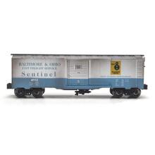 Menards Menards O Gold Line B&O weathered Boxcar # 279-4414
