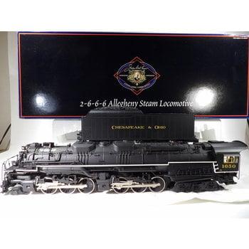 Lionel O Gauge Joshua Lionel Cowen Series C&O Allegheny 2-6-6-6 Loco # 6-38081