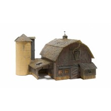 Woodland Scenics N Old Weathered Barn # BR4932 #TOTES1