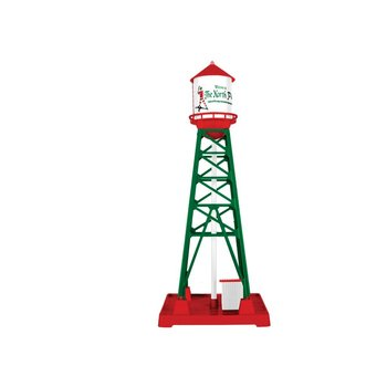 PRE-ORDER Lionel O Plug-Expand-Play Christmas Industrial Tower # 6-84797