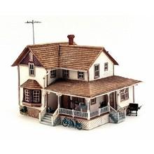 Woodland Scenics HO Corner Porch House # BR5046 # TOTES1