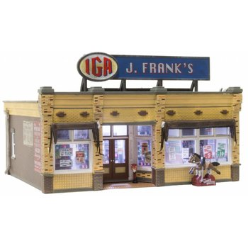 Woodland Scenics HO J. Frank's Grocery  # BR5050