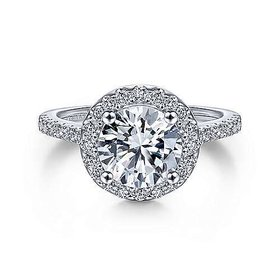 ER9349 Carly Halo Engagement Ring Setting