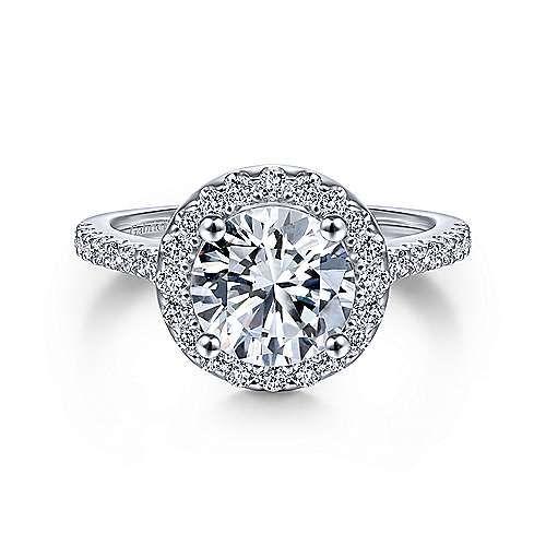 ER9349 Carly Halo Engagement Ring Setting