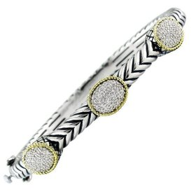 ACB210 Diamond Station Bracelet