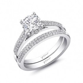 LC5446  2 Row Diamond Setting