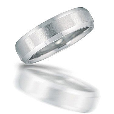 Novell N00126 Brushed Wedding Band