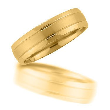 Novell N00150 6mm brushed wedding ring