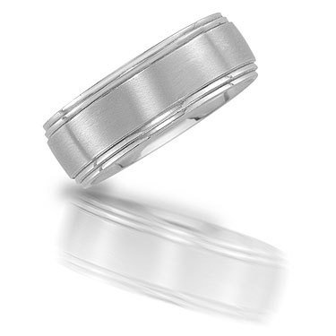 Novell N01960 brushed wedding band