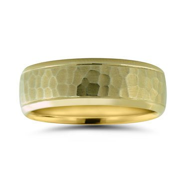 Novell N16732 7mm hammered  band