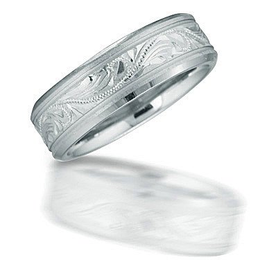 Novell N03089 Lyric Design Wedding Band