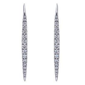 EG12630 diamond drop earrings