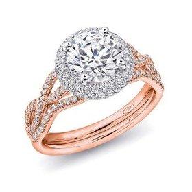LC5438 infinity diamond halo
