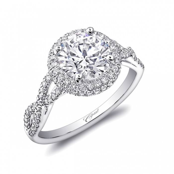 Coast LC5438 infinity diamond halo