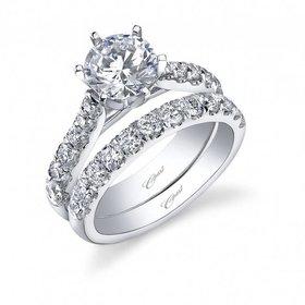 LC5291  tapering diamond setting