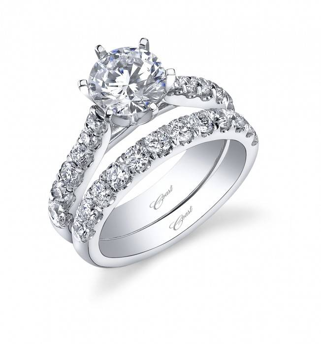 Coast LC5291  tapering diamond setting