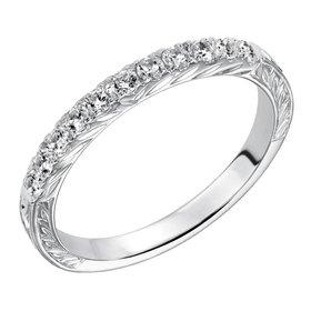 33-9125 14kt white gold diamond band