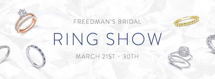 Freedman's 17th annual ring show March 21-30, 2019