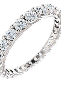 Graduated Diamond Eternity Band 1.33 carat total
