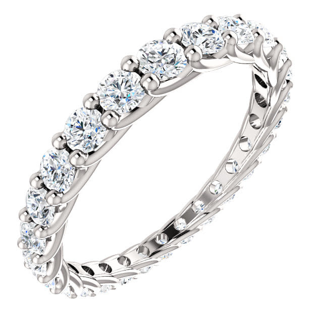 Stuller Graduated Diamond Eternity Band 1.33 carat total