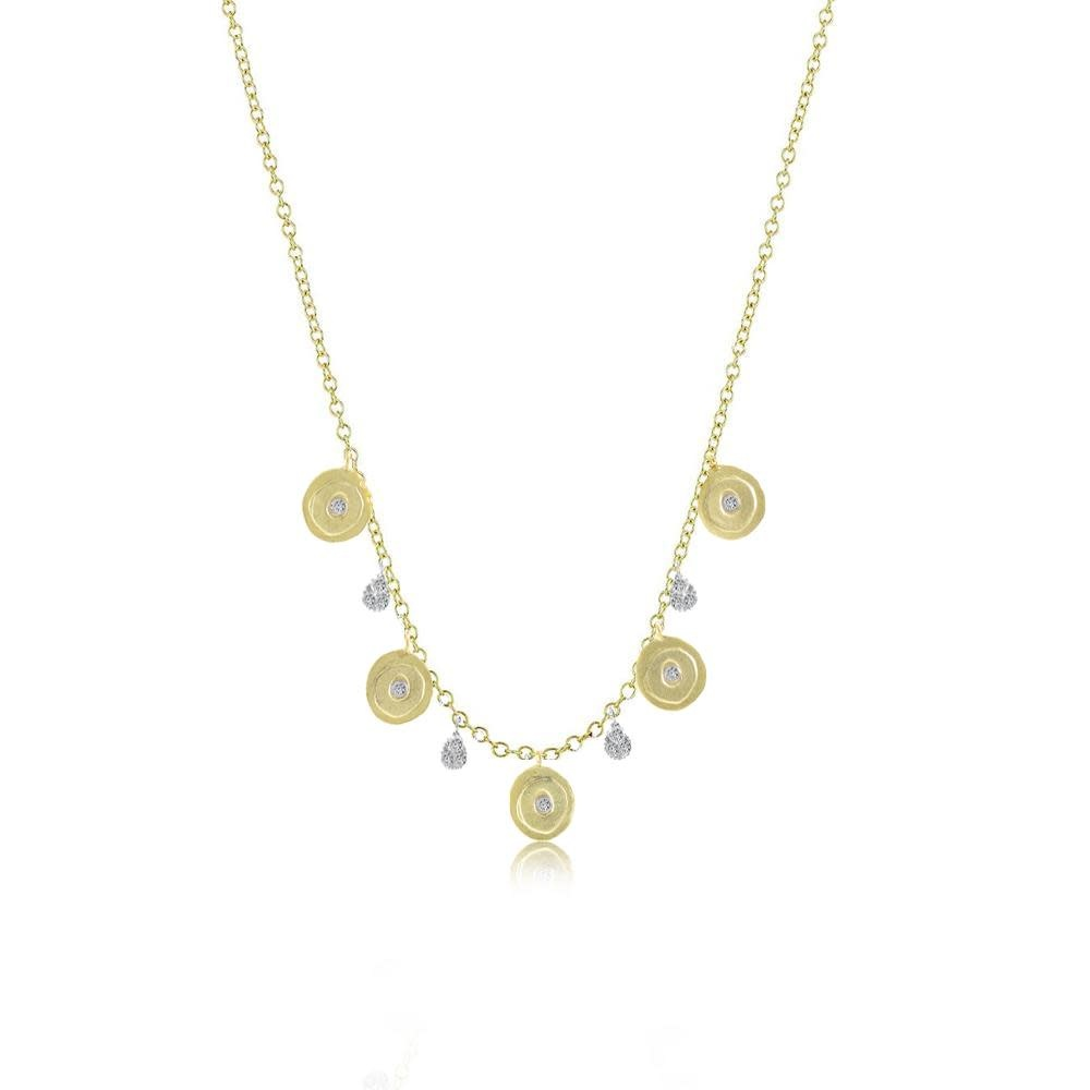 Meira T Coin Charm Necklace