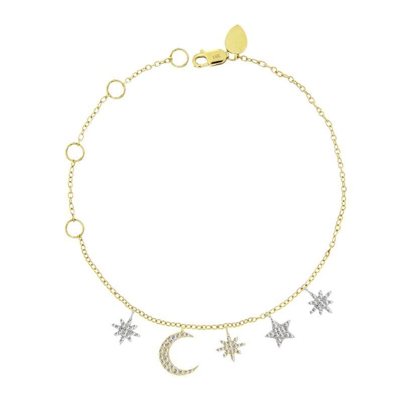 Celestial Diamond Bracelet