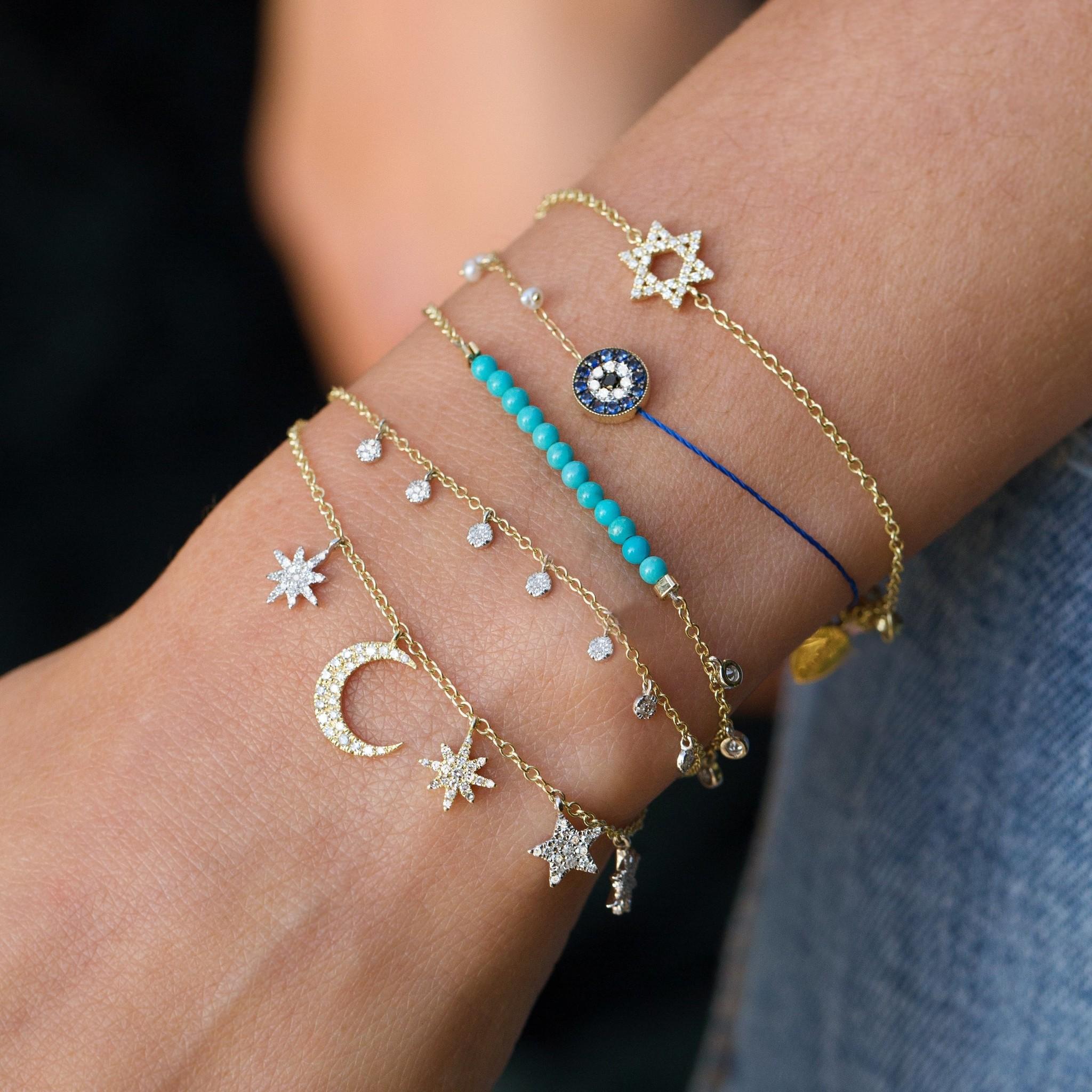 Meira T Celestial Diamond Bracelet